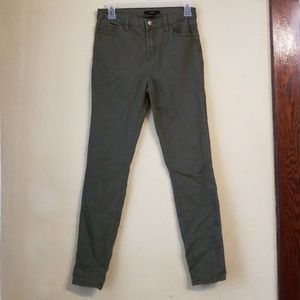 Forever 21 olive green high waisted pants